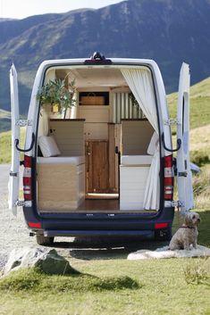 Van Conversion Interior, Camper Van Conversion Diy, Time In Australia, Sprinter Van Conversion, Mercedes Sprinter, Sprinter Camper, Bus Camper, Van Living, Creature Comforts