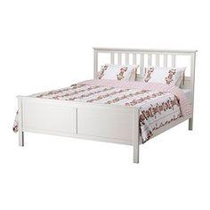 Hemnes Bed Frame, White Stain