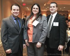 Aaron, Erica and Ryan Wiegel - Wiegel Tool Works.  Banquet at the Butterfield Country Club, Oak Park Illinois on March 23, 2013 #TMA #McLarenPhotographic #mclarenphotos © 2013 McLaren Photographic LLC http://www.mclarenphotographic.com