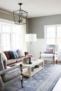 Shop DIANA FLOOR LAMP, DARLANA LANTERN, BLAINE CHAIR, SKY GREY JAR, SKY GREY VASE, BRASS CUBE OBJECT, Echo Oxford Tan Sofa, BLUSH SEA GLASS BEADS, Blake Raffia Coffee Table, ST. CLOUD IN GRAY & DENIM, BLAINE CHAIR and more