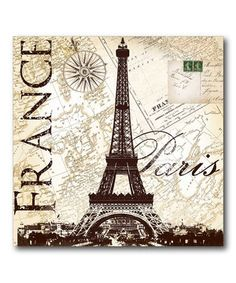 Dress up the home with iconic imagery from Paris using this beautiful Eiffel Tower-themed canvas. The artfully soothing print is a lovely addition to any room and is made with high-quality ink and canvas that resist fading and wear.