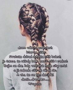 Language, Dreadlocks, Motivation, Feelings, Words, Hair Styles, Quotes, Beauty, Hair Plait Styles