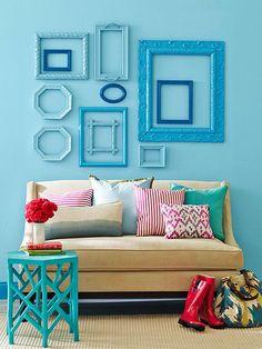 Ideias para preencher as paredes - dcoracao.com - blog de decoração