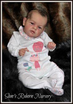 Beautiful Reborn Baby Doll ~ Mary Anne ~  Sam s Reborn Nursery ~
