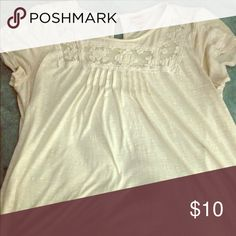 Short sleeve boho top Pairs perfect with a jean jacket, light and very flattering Mossimo Supply Co Tops Tees - Short Sleeve