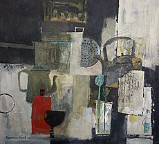 Still Life with Crusty Kettle - Margaretann Bennett
