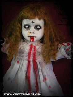 Possessed Zombie Doll. | Creepy Dolls By California Horror Artist Bastet2329