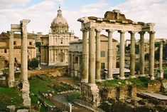 Rome, Lazio, Italy (The hotel we typically stay at is looking straight through the 3rd and 4th columns from the right)