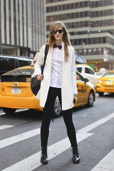 Chic Ways To Wear A Bow Tie                              …