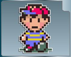 Earthbound Ness 8 Bit Decal Sticker by AwesomeAhoy on Etsy, $5.65
