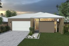 Costa Home Designs  Sunshine Coast Home Builders  EMM216  Classic Facade