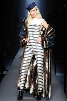 Jean Paul Gaultier's fall 2015 couture collection packed a nautical punch