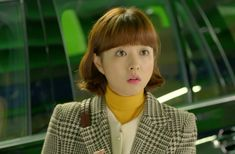 """Our lovely Park Bo-Young is back with incredible superhero powers in JTBC's new series, """"Strong Woman Do Bong Soon""""! With her Hulk-like strength, Bo-Young is busy protecting the u… Cute Fashion, Daily Fashion, Spring Fashion, Strong Girls, Strong Women, Do Bong Soon Fashion, Park Bo Young, Korean Actresses, Bongs"""