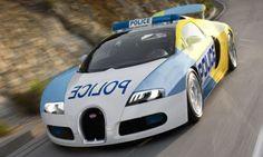 Bugatti Veyron Police Car.