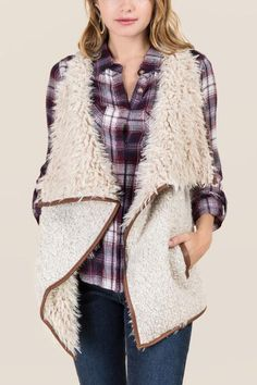 perfect vest for winter layering