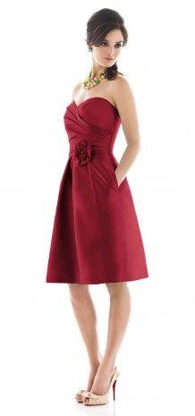 Bridesmaid Dress-red$59.99