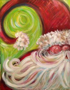 Whimsy santa