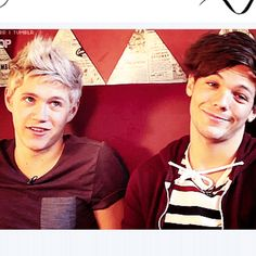 "Niall: ""I'm super adorable.""  Louis: ""True story."""