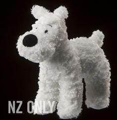 Tintin Snowy Mediun Plush - Weta - U$24