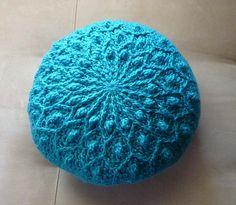 blue pillow...