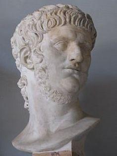 Bust of Nero at the Musei Capitolini Rome  Source: Wikipedia