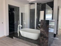 Bathtub, Bathroom, Glass, Standing Bath, Bath Room, Bath Tub, Drinkware, Bathrooms, Bathtubs