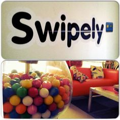 Swipely knows that no office is complete without a gum-ball machine