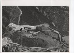 Photo:Hughes Labs,Malibu Canyon Road,Malibu,California.1958.