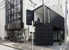 Mała galeria. / Small gallery byTomokazu Hayakawa Architects