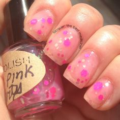 Matte Pink Party  in the pink line   Nail Polish  by IndiePolish, $3.95