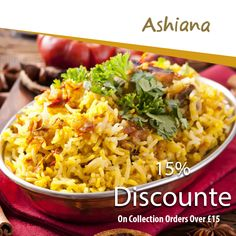 Ashiana offers delicious Indian Food in Westcliff-On-Sea, Southend-on-Sea Browse takeaway menu and place your order with ChefOnline. You can pay via cash. Indian Food Recipes, Ethnic Recipes, Food Items, Fried Rice, A Table, Menu, Delivery, Favorite Recipes, Nasi Goreng