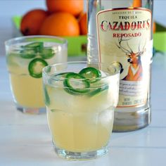 Jalapeno Margarita-I've had these and they are great!