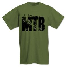 52158a625 MTB Mountain Bike Cycling Down Hill Trails XC Freeride Bicycle Men s T Shirt  in Clothes