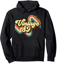 30th Birthday Vintage 89 limited edition born in 1989 Pullover Hoodie