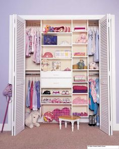 closet...we need more shelving in the closet of the baby room and the office