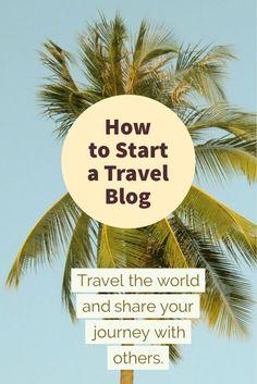 How to Start a Travel Blog! #travel #blogger #blogging #travelblog