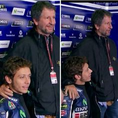 with dad :) - Valentino Rossi Photo (37455402) - Fanpop