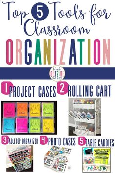 Ready to Marie Kondo your classroom?! Check out my Top 5 GAME CHANGERS for classroom organization!