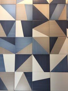 6 tile trends you should know modern kitchen tiles, modern floor tiles, kit Floor Patterns, Tile Patterns, Textures Patterns, Floor Design, Tile Design, Geometric Tiles, Quilt Modernen, Modern Colors, Modern Art