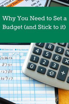 """Stop living paycheck to paycheck! There are many reasons why reigning in your spending and being responsible with your money by setting a budget is definitely a smart choice, although it may not be a """"fun"""" choice at first. Why you need to set a budget (and stick to it)! frugal living tips, money saving tips, living on a budget"""