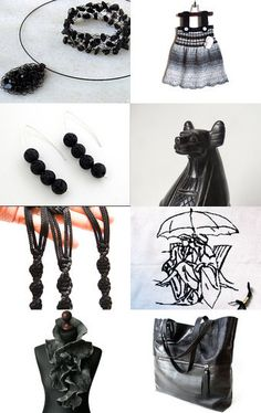Black Faves by Meg on Etsy--Pinned+with+TreasuryPin.com