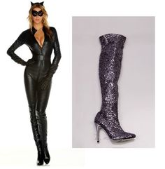 Sexy Halloween Costume Accessories, 2013 - Accessorize your sexy halloween costume with the Lauren Lorraine Nikita boot!