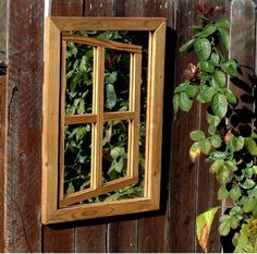 Centurion Illusion Garden Mirror H x W x D). Made of environmentally safe heat treated wood for long life and uses acrylic mirror for safety Wall Mounted Mirror, Mirror Door, Contemporary Outdoor Decor, Mirror Illusion, Outdoor Mirror, Garden Mirrors, Outdoor Garden Decor, Acrylic Mirror, Garden Inspiration