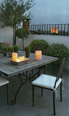 On the terrace. skandinavisk.com