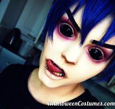 Scary Halloween makeup » Halloween Costumes 2013