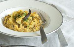 Quinoa con zucchine e zafferano