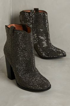 0344a3831 Lola Cruz Western Crystal Ankle Booties