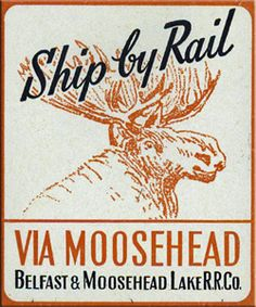 The Belfast & Moosehead Lake was perhaps Maine's best known shortline, first opened in 1867.  Today, the B&ML still survives as a tourist line.