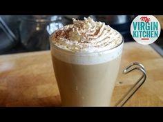 Learn how to make a delicious Homemade Spiced Pumpkin Latte! So easy! #myvirginkitchen  #pumpkin #latte #recipe