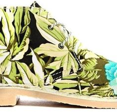 Latest tropical ankle-high-booties best for daywear  online via @roposolove